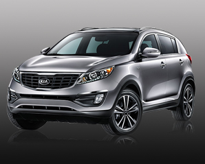 Kia Sportage Car Rental